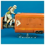 03 Rey's Speeder (Jakku) - The Black Series 6-inch action figure collection from Hasbro