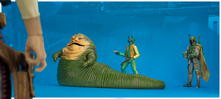 Jabba The Hutt 6-inch set - The Black Series from Hasbro