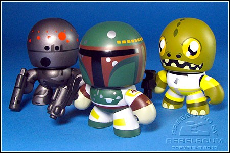 Bounty Hunters mini muggs
