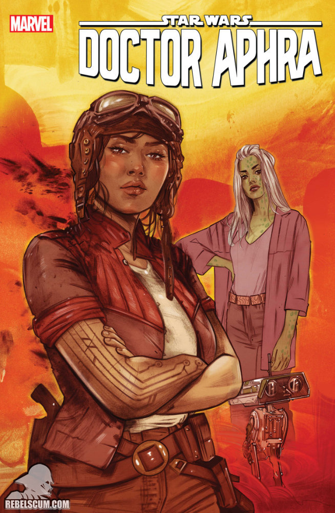 Doctor Aphra 4 (Tula Lotay variant)