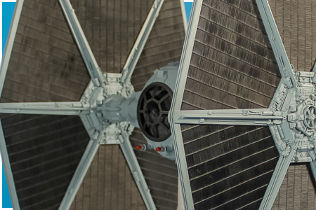 eFX Studio Scale Model Imperial TIE Fighter