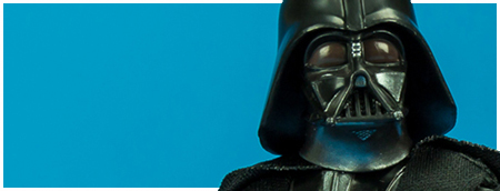 43 Darth Vader - The Black Series 6-inch action figure from Hasbro