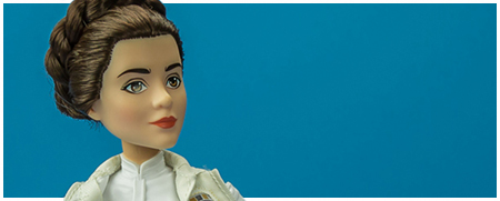 Princess Leia Organa & R2-D2 - Forces Of Destiny action figures from Hasbro