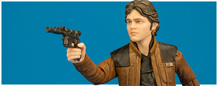 Han Solo - The Black Series 6-inch action figure from Hasbro