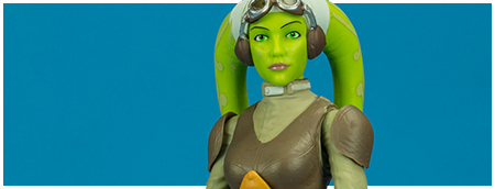 42 Hera Syndulla - The Black Series 6-inch action figure from Hasbro