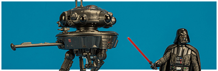 Imperial Probe Droid with Darth Vader - Star Wars Universe 3.75-inch action figure from Hasbro