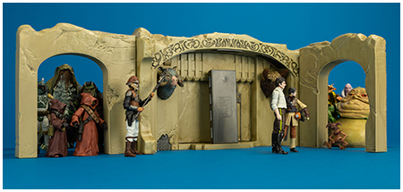 Jabba's Palace Adventure Set The Vintage Collection 3.75-Inch Vehicle from Hasbro