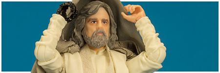Luke Skywalker (Jedi Master) - Ahch-To Island - The Black Series 6-inch action figure from Hasbro