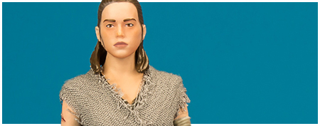 Rey (Jedi Training) Crait - The Black Series 6-inch action figure from Hasbro