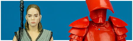 Rey (Jedi Training) & Elite Praetorian Guard Two-Pack from Hasbro