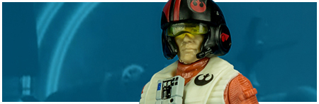 Poe Dameron (Resistance Pilot) from Hasbro's The Last Jedi Collection