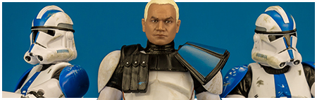 Clone Captain Rex - The Black Series 6-inch action figure from Hasbro