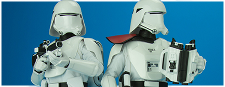 MMS323 First Order Snowtroopers 1/6 Scale Figure Set from Hot Toys