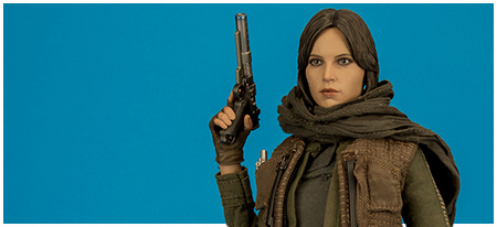 MMS404 Jyn Erso 1/6 Scale Collectible Figure from Hot Toys