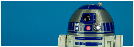 MMS408 R2-D2 1/6 Scale Collectible Figure from Hot Toys