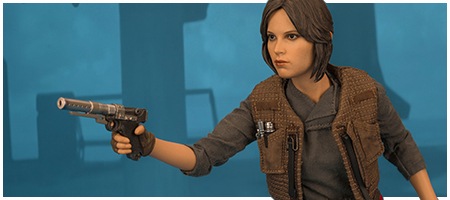 MMS405 Jyn Erso Deluxe 1/6 Scale Collectible Figure from Hot Toys